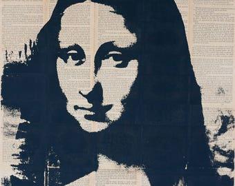 Mona Lisa Pop art,   Wall Art