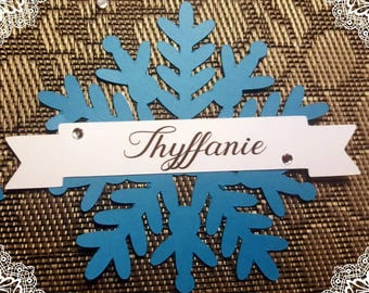 Brand instead snowflake Queen frozen Christmas table decoration
