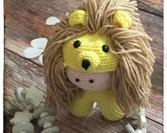 Little Amigurumi Lion : Crochet little amigurumi lion
