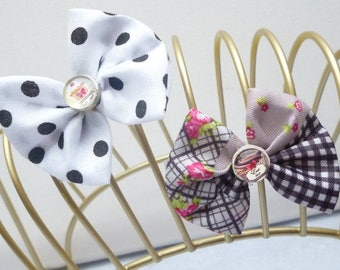 Small barrette set of 2