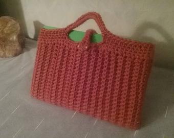 Tablet bag, mobile sock, protective case, selfmadeed tablet bag, crochet raspberry