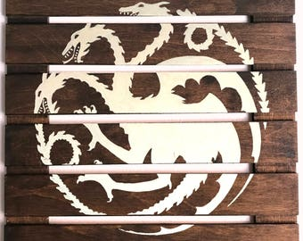 14x14 Game of Thrones House Targaryen Logo