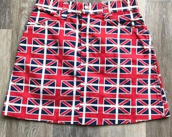 Union Jack Vintage mini skirt