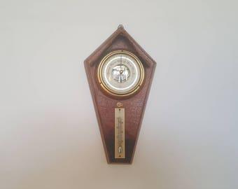 Vintage Barometer, Art Deco Barometer