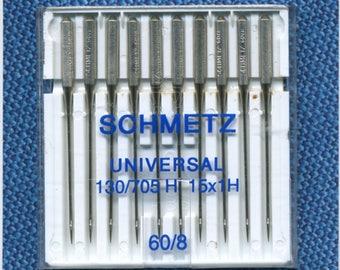 Standard needles n. 60 Schmetz sewing machine