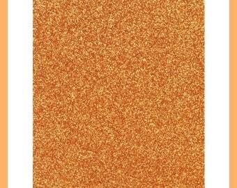 Thick glitter paper Orange Scrapbooking - 20 x 29.5 cm - new