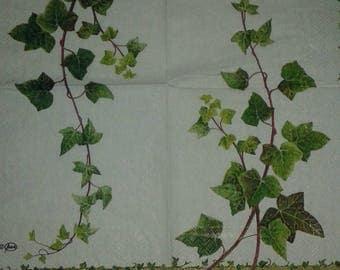 "Pretty NAPKIN pattern ""Ivy"""