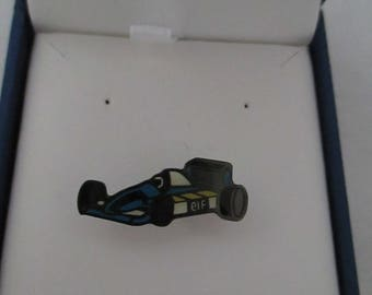 """badges with shape """"ELF brand racing car"""