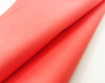 Melon Red Tissue Paper Sheets- Gift Wrapping/Bulk Tissue Paper/Tissue Paper Tassels/Tissue Paper/Pom Poms/Wrapping Paper/Red Tissue
