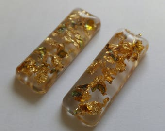 Goldleaf Resin Charms