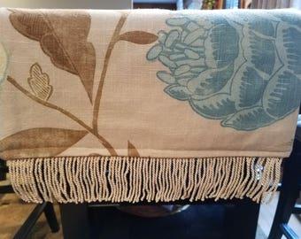 Floral Pattern Table Runner/Dresser Scarf