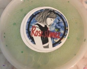 Clear green slime