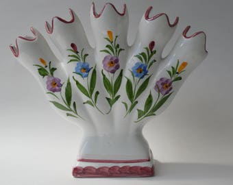 Hand Painted vase from Portugal