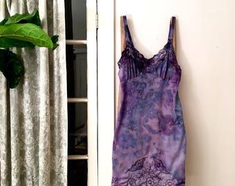 Vintage Ice Dyed Slip Dress