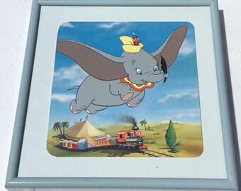 Disney Dumbo Framed Tile Picture