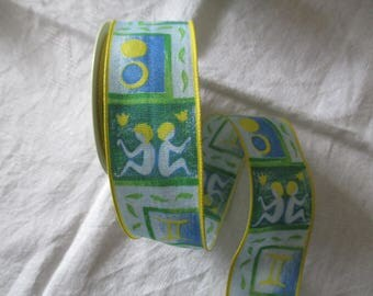 5 m Ribbon Gemini zodiac sign