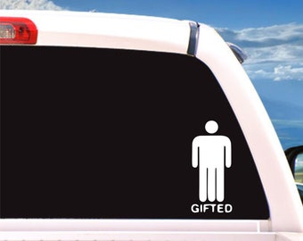 Gifted decal