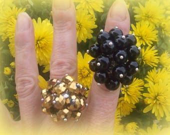 CLEARANCE * 2 beads rings