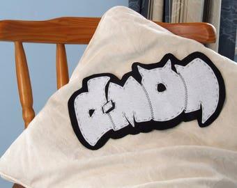 "Felt Graffiti - ""D-Mon"""