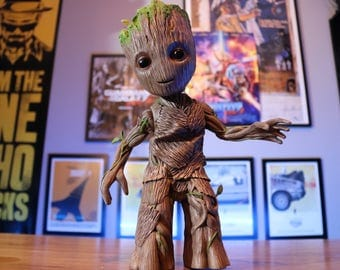 Baby Groot guardians of the Galaxy 2 - Custom baby groot dancing style Hot toys -