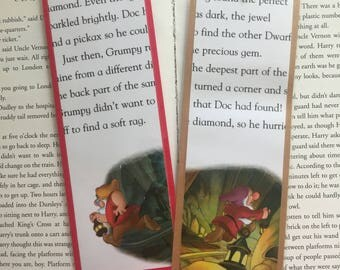 Snow White and the Seven Dwarfs Disney Bookmarks