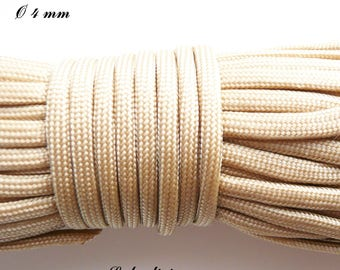 Cord / Paracord 4 mm 550: Beige