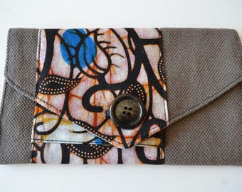 Fabric tobacco pouch / clutch envelope