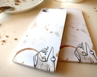 """Notepad """"Good appetite"""", 2 notepads"""