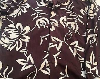 LONG SLEEVE Vintage Hawaiian Shirt