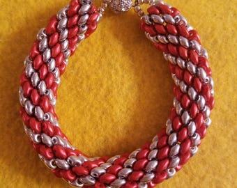 Snake Charmer Spiral Bracelet