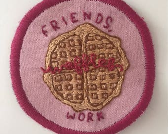 Parks and Recreation Inspired Patch // Iron On // 7.5cm // Leslie Knope