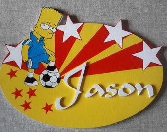 Door Bart Simpson - first name choice