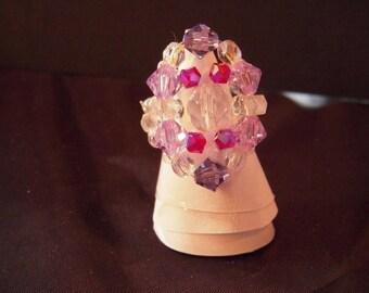 Bague4 swarovski crystal