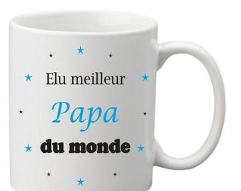 "Mug ""voted best Dad in the world"""