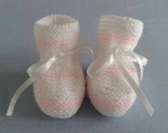 Baby booties - newborn - 1 month
