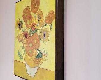 Framed Print - Sunflowers by Vincent Van Gogh