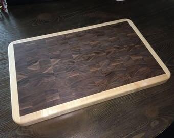 End-grain Wood Cutting Board