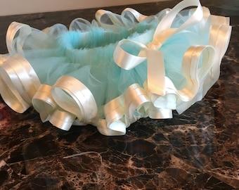Aqua blue tutu