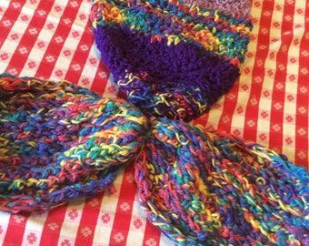 crochet babygirl newborn-three months babygirl mermaid cacoon