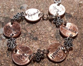 Family bracelet for mom or grandma