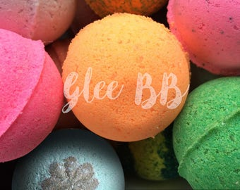 Bath Bomb Lot of 100 - FREE SHIPPING Various Scents, Colorful, Fizzy, Mini Bath Bomb, Party Favor, Giveaway, Gift, Kid Friendly, Spa