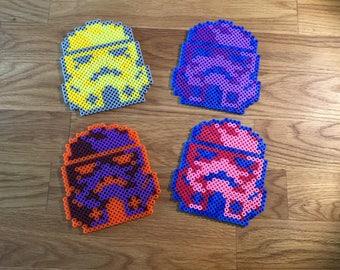 Pop art Star Wars Stormtrooper coasters