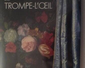"""Art book """"the trompe l'oeil."""
