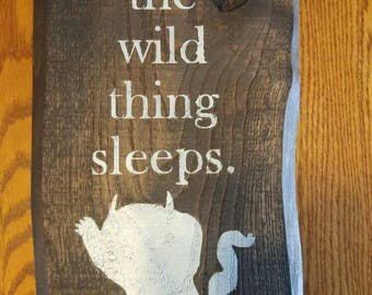 Where The Wild Thing Sleeps