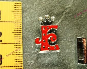 Pearl e busy N1 rhinestone Crown for bracelet