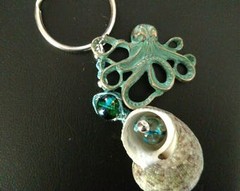 Key Chain/Car Accessories/Octopus Key Ring