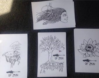 Of Zion original art prints