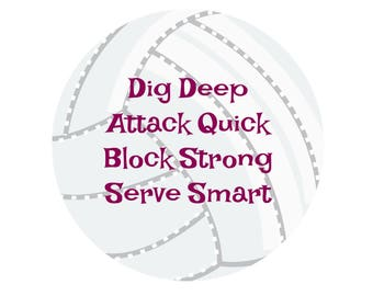 Volleyball Quote- digital download- 8 x 10