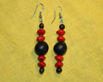"""SOAP and churches"" tribal earrings"