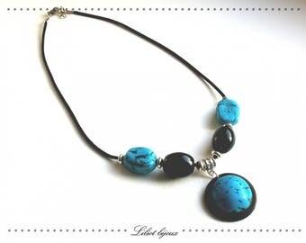 Turquoise ethnic necklace